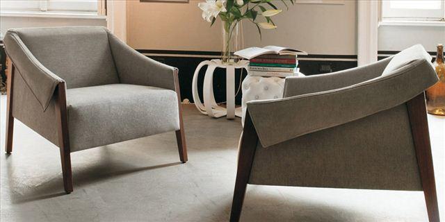 Caprichos de hogar salamanca decoracion interiorismo muebles contemporaneos tapizados lolo España tienda butaca Porada