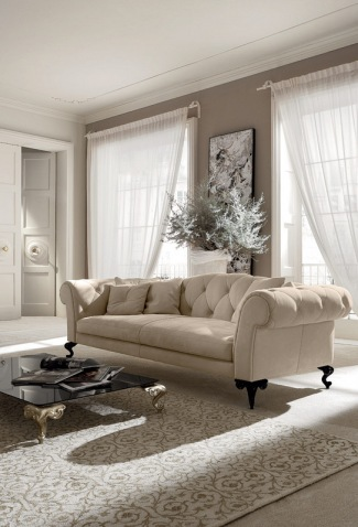 Caprichos de hogar salamanca decoracion interiorismo muebles contemporaneos tapizados lolo España tienda sofa Cantori (1 (4)07