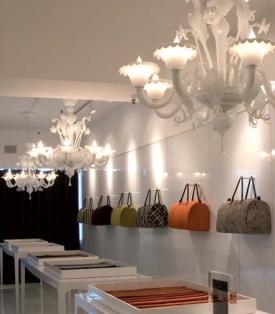 Caprichos de hogar proyecto Salamanca decoración interiorismo lolo espana tienda iluminación lighting lámparas lamps La Murrina
