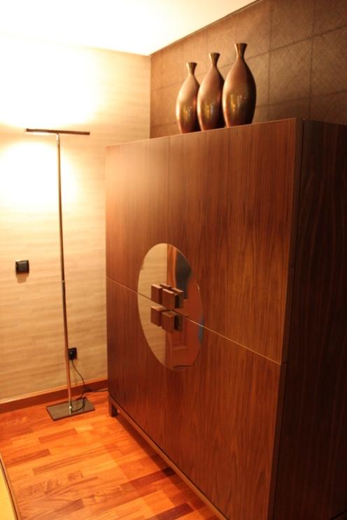 Caprichos de Hogar Decoración muebles a medida Salamanca Madrid España Cabo Verde proyectos decoradores interioristas aparador mueble bar