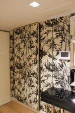 Caprichos de Hogar Decoración muebles a medida Salamanca Madrid España Cabo Verde proyectos decoradores interioristas consola papel pintado elitis puerta cubrecontador