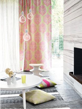 Caprichos de hogar proyecto Salamanca decoracion interiorismo lolo Espana telas fabrics tienda tapizados textil hogar Chivasso 6