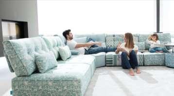 sofas modulares, butacas, mueble tapizado, Salamanca, interiorismo, Caprichos de Hogar, sillas, Madrid, lujo, decoradores, España, Sofas Fama, Arianne Love (1)