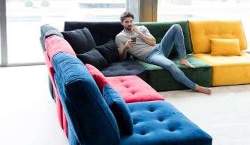 sofas modulares, butacas, mueble tapizado, Salamanca, interiorismo, Caprichos de Hogar, sillas, Madrid, lujo, decoradores, España, Sofas Fama, Arianne Love (2)