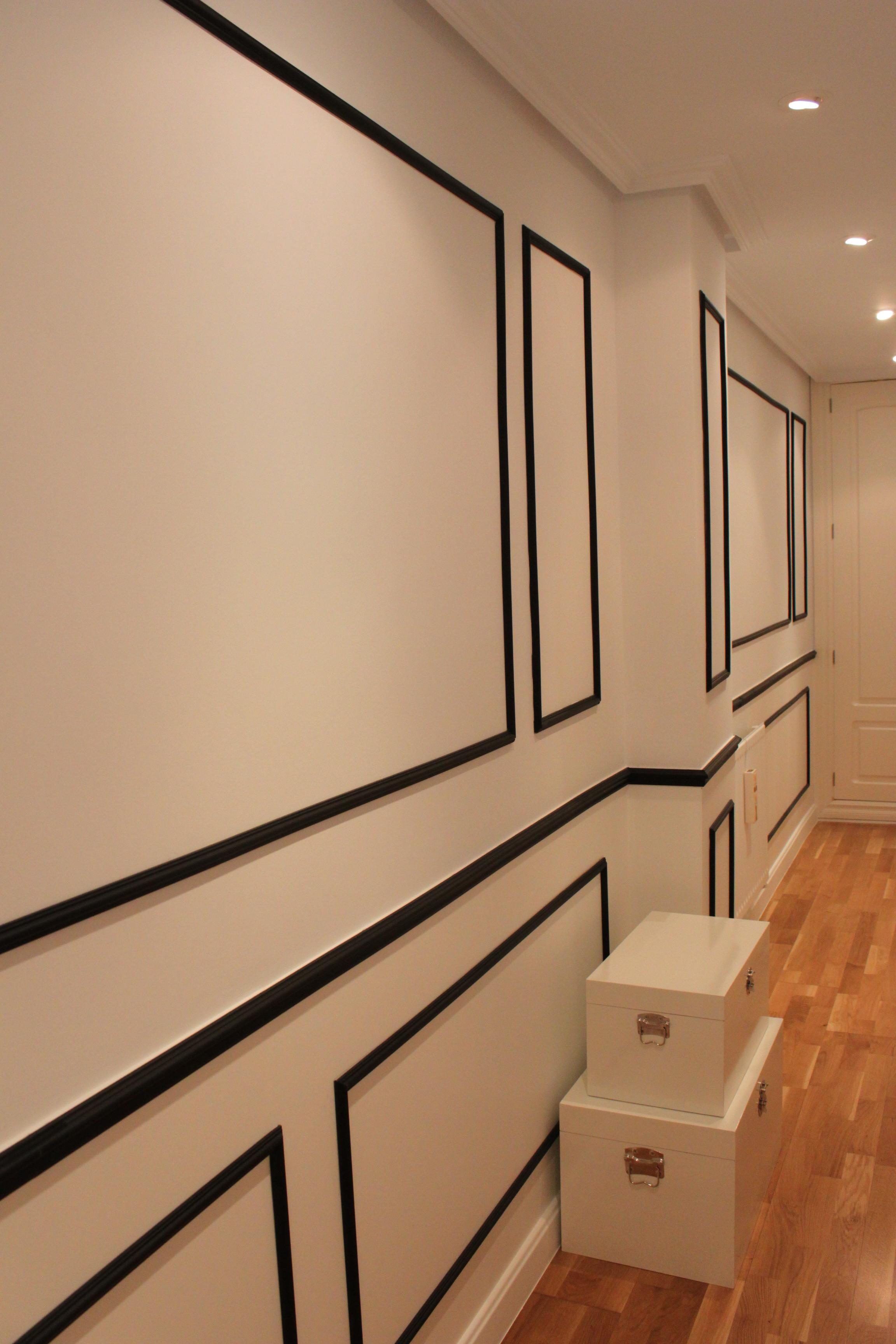 Pasillos pintados pasillos pintados pin it with papel - Papeles pintados para pasillos ...