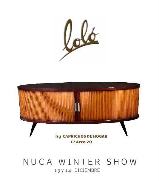 lolo muebles salamanca caprichos de hogar diseño  nuca winter show