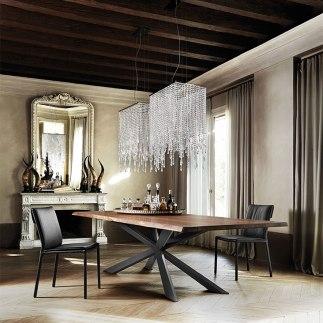 Mueble contemporaneo, Caprichos de Hogar, Salamanca, interiorismo, proyectos, decoradores, España, Madrid, Mesa comedor, lujo, Cattelan Italia (3)
