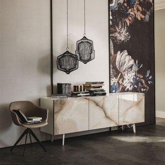 Mueble contemporaneo, Caprichos de Hogar, Salamanca, interiorismo, proyectos, decoradores, España, Madrid, Mesa comedor, lujo, Cattelan Italia (5)