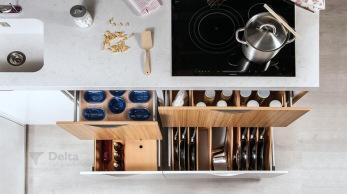 Caprichos de hogar Salamanca cocina muebles forniture kitchen espana tienda lolo proyecto interiorismo decoracion delta albero