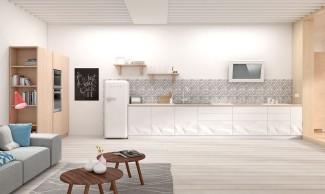 Caprichos de hogar Salamanca cocina muebles forniture kitchen espana tienda lolo proyecto interiorismo decoracion Delta artica