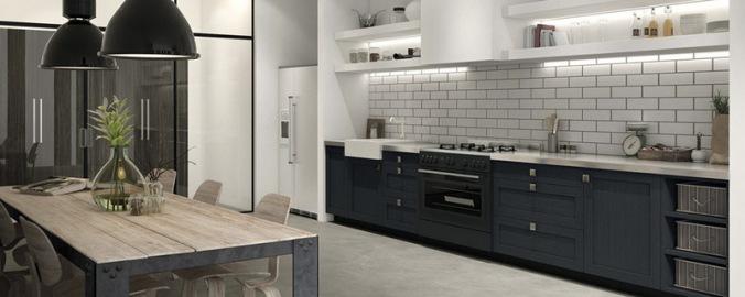 Caprichos de hogar Salamanca cocina muebles forniture kitchen espana tienda lolo proyecto interiorismo decoracion delta enmarcado