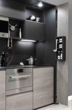 Caprichos de hogar Salamanca cocina muebles forniture kitchen espana tienda lolo proyecto interiorismo decoracion delta kitchenette