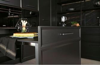 cocina Salamanca Caprichos de Hogar Delta con mesa extraible-extensible del interior del mueble (1)